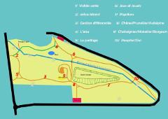 Plan vallée verte